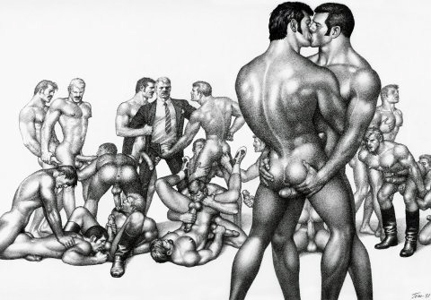 out of the book (gay) Tom of Finland XXL, Taschen